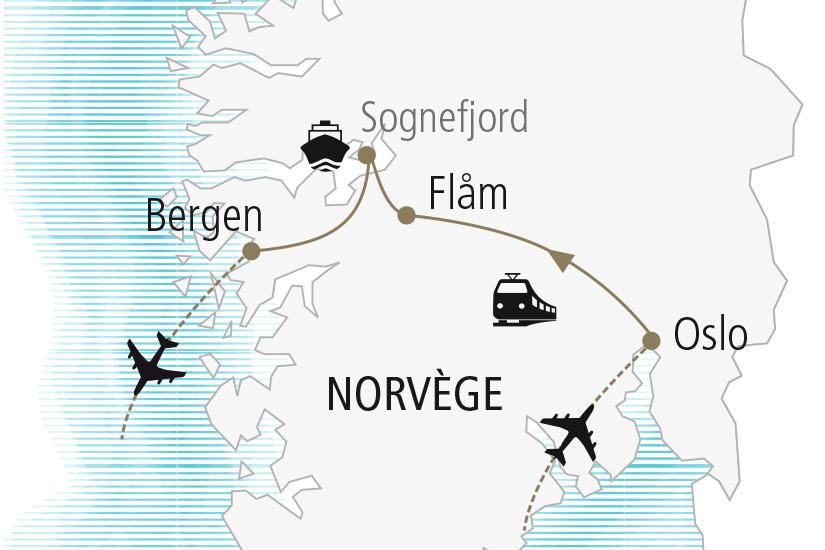 carte Norvege Escapade Norvegienne Nordiska 20_337 878308