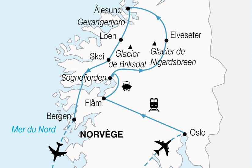 Circuit Norv 232 Ge La Norv 232 Ge De Fjords Et Glaciers 9