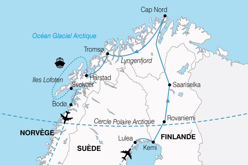 Circuit Finlande Norvege Suede Magies Du Nord 9 Jours
