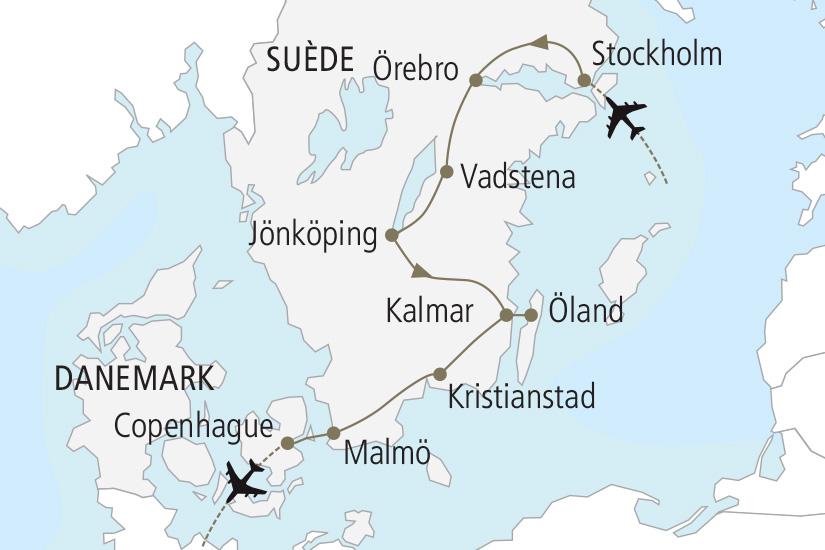 Circuit Autotour Suede Au Royaume De Suede 8 Jours Nordiska