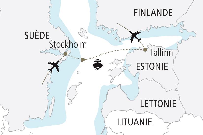 carte Suede Estonie Traditions de Noel de la Baltique NDK18 19_259 856477