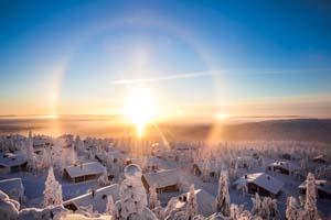 Charme Hivernal de Laponie