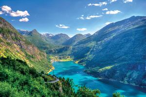 vignette Norvege Geirangerfjord is_504543029