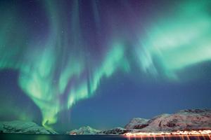 vignette Norvege aurore boreale