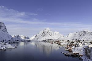 vignette Norvege lofoten hiver  it