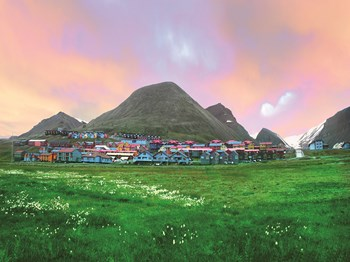 vignette Norvege longyearbyen