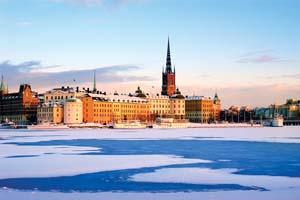 vignette Suede riddarfjarden stockholm neige ville hiver 14 it_652233000