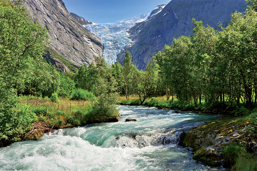 (image) image Glacier Briksdal Norvege 13 it_12279855