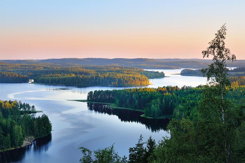 (image) image Paysage du lac Saimaa d en haut Finlande 34 it 505493822