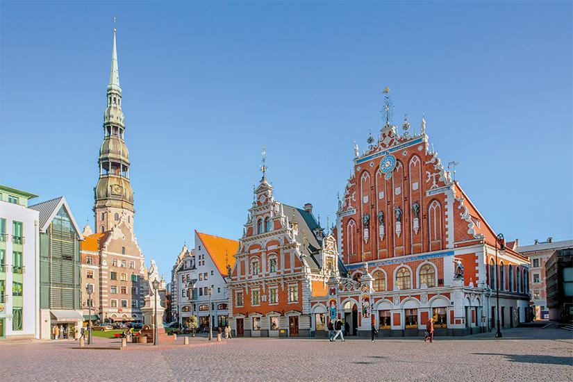 (image) image Place de la mairie a Riga capitale de la Lettonie 04 as_57743841