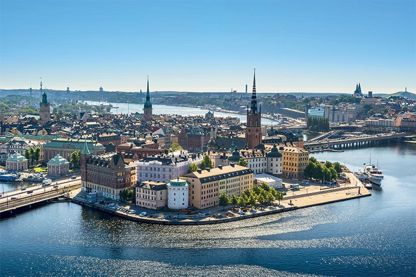 (image) image vue sur la vieille ville ou Gamla Stan a Stockholm Suede 29 as_116711322