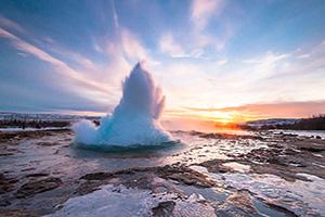 (vignette) Vignette Islande Geyser Strokkur  fo