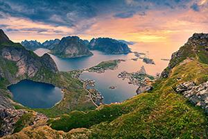 (vignette) Vignette Norvege Fjord Paysage  it