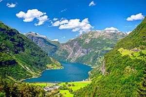 (vignette) Vignette Norvege Geiranger fjord  it