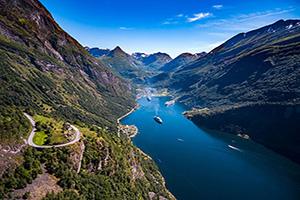 (vignette) Vignette Norvege Geiranger fjord  fo