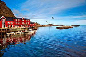 (vignette) Vignette Norvege Lofoten Paysage  it