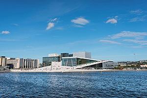 (vignette) Vignette Norvege Oslo opera  fo