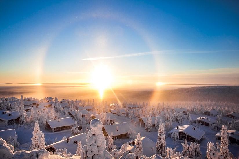 image Finlande paysage laponie
