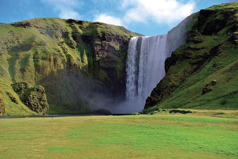 image Islande Cascade Skogarfoss  fo