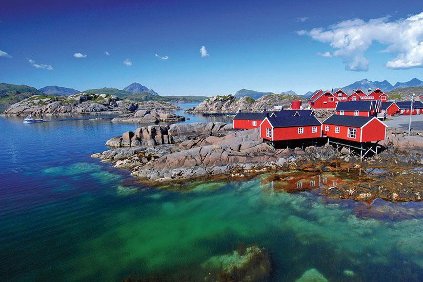 image Lofoten fjord  fo