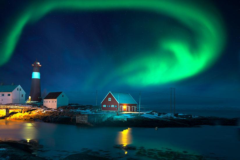 image Norvege Aurores boreales  it
