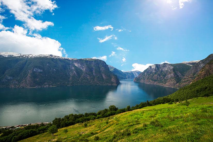 image Norvege Fjord Aurland de Sogn  it