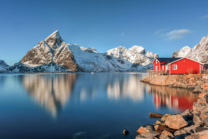 image Norvege Reine Iles Lofoten  fo