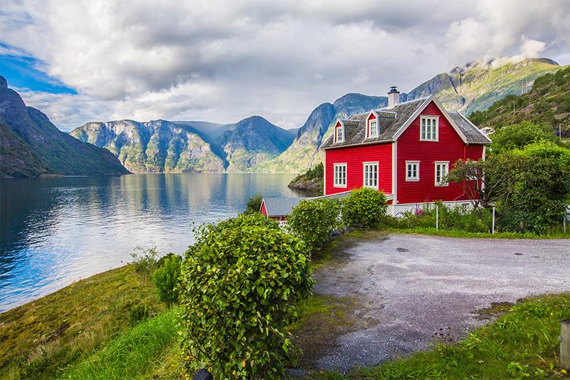 image Norvege Sognefjord maison rorbu as_125056267