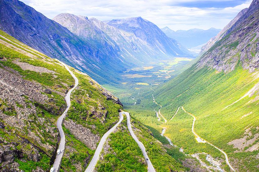 image Norvege Sommet trollstigen  it