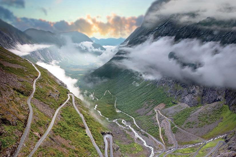 image Norvege Trollstigen Route Des Trolls  fo