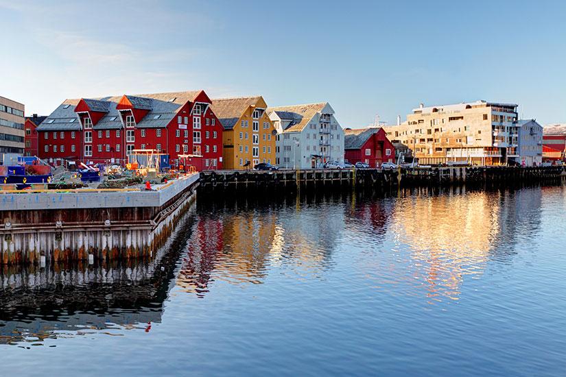 image Norvege Tromso batiment  it