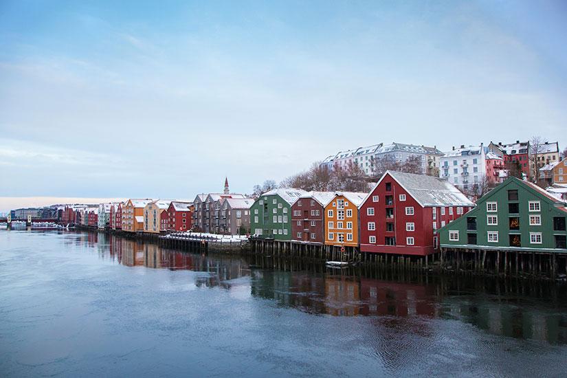 image Norvege Trondheim hiver  it