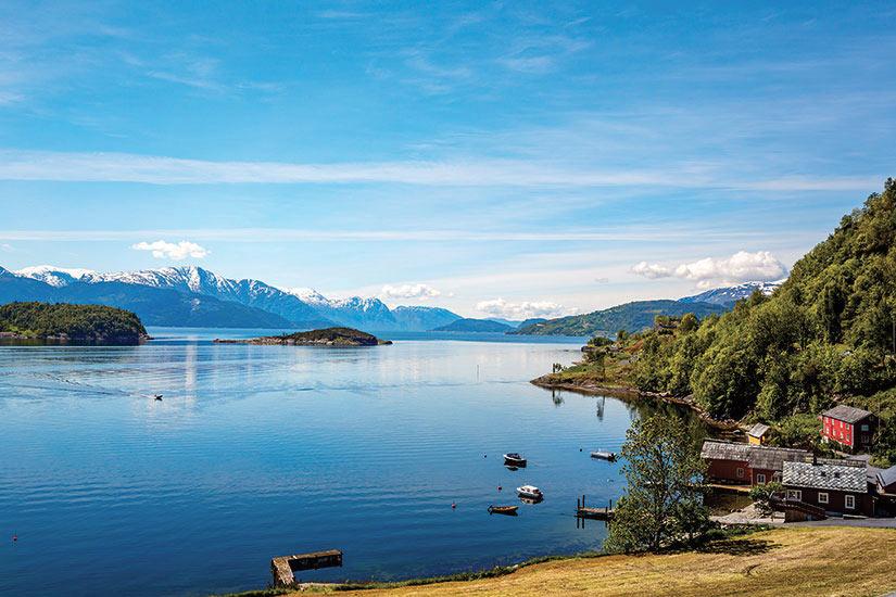 image Norvege beau pausage naturel  fo