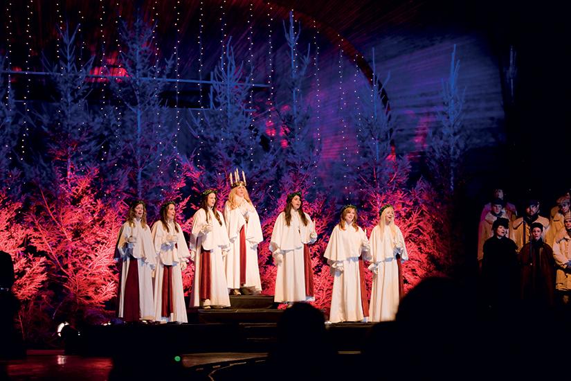 image Suede Stockholm lucia celebration