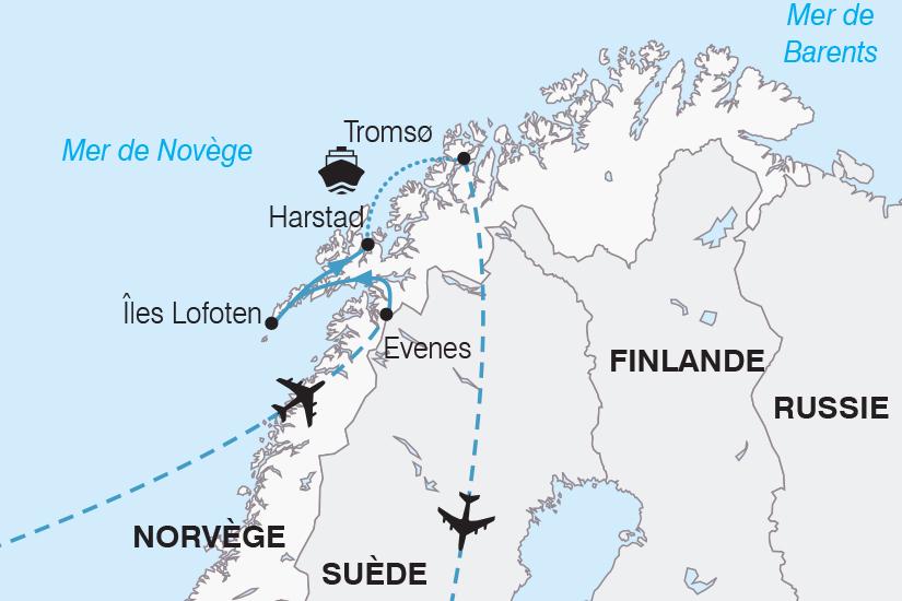 carte Norvege Escapade Boreale SH19 20_319 460624