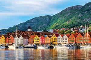 circuit bergen norvege vue de batiments historiques a bryggen 79 as_190816719