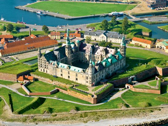 danemark copenhague forteresse de kronborg  fotolia